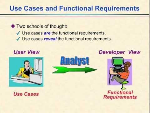 Video 13 Use Cases And Functional Requirements Youtube