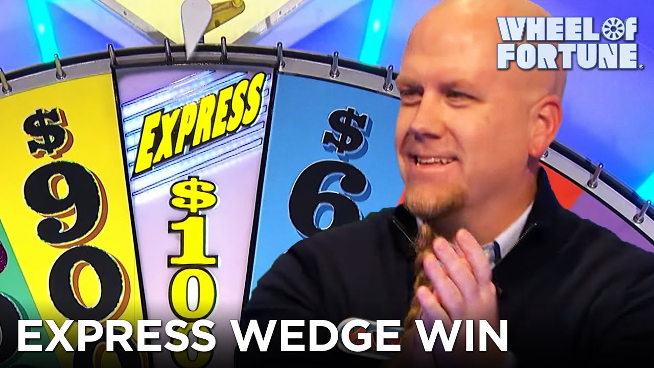 Jason Wins Over $10K With the Express Wedge | Wheel of Fortune