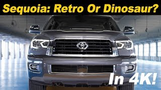 2018 / 2019 Toyota Sequoia - When Dinosaurs Roamed The Earth