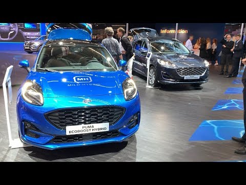 FORD PUMA vs FORD KUGA (2020) - which one is better? (ST Line & Vignale)