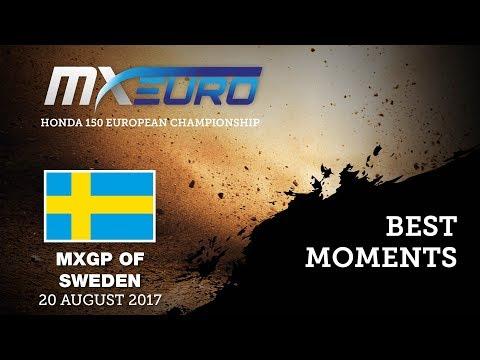 Honda EMX150 Race2 Best Moments - MXGP of Sweden 2017
