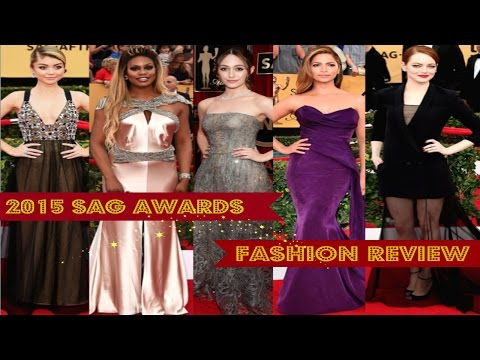 2015 SAG Awards | Fashion Review