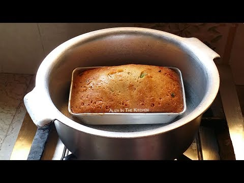 How to make birthday cake in home without oven