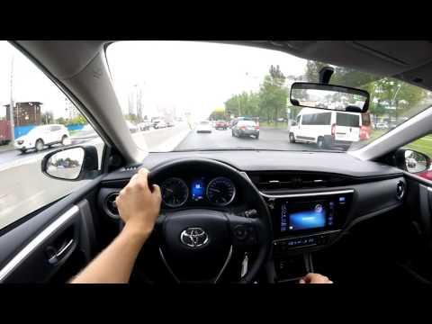 Toyota Corolla 2016 первые метры за рулем