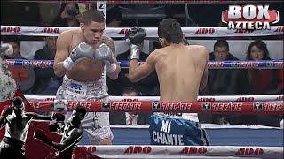 Oscar Valdez noquea a su rival en el primer round