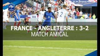 France - Angleterre 2017 : 3-2