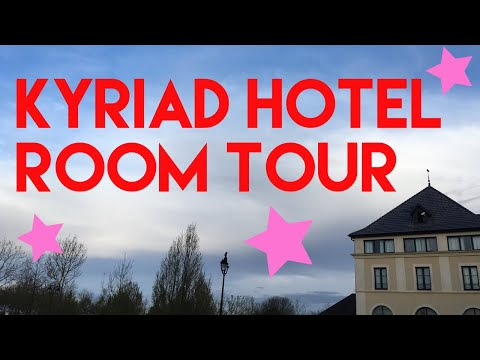 Caffeine&PixieDust: Kyriad Hotel Disneyland Paris Room Tour