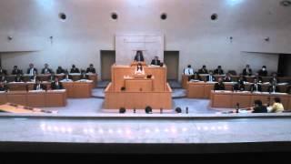 第一回定例議会において、区政一般について質問をさせて頂きました。