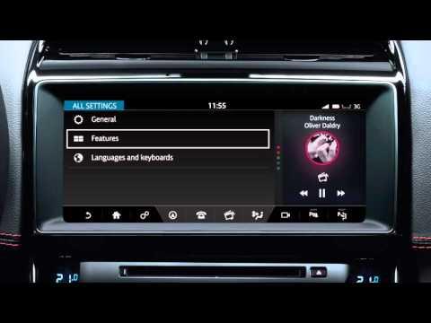 Jaguar XE 2017   InControl Touch Pro Settings