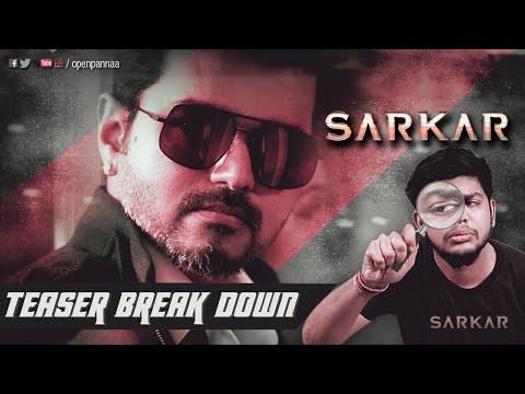 Sarkar Teaser Breakdown by Vj Abishek | Open Pannaa