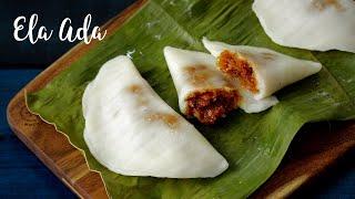 Ela Ada | Steamed Banana Leaf Pancake | Home Cooking
