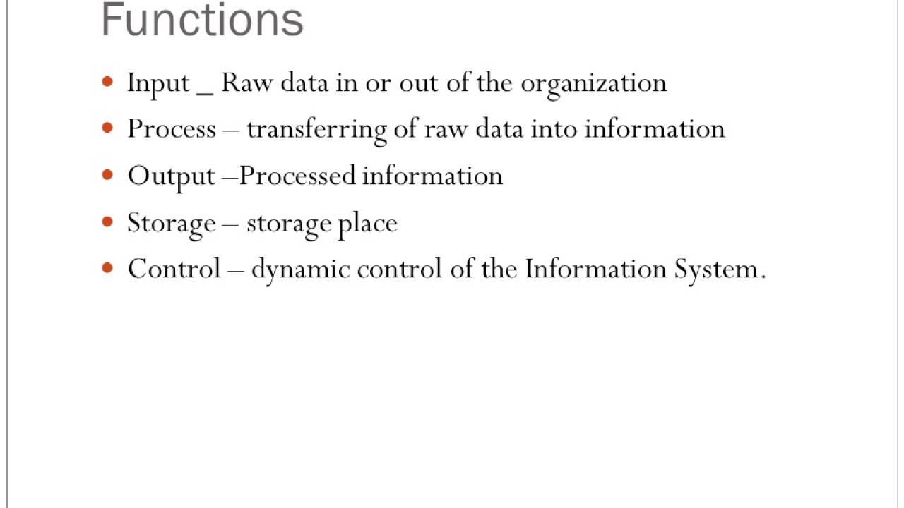 benefits of computer based information system