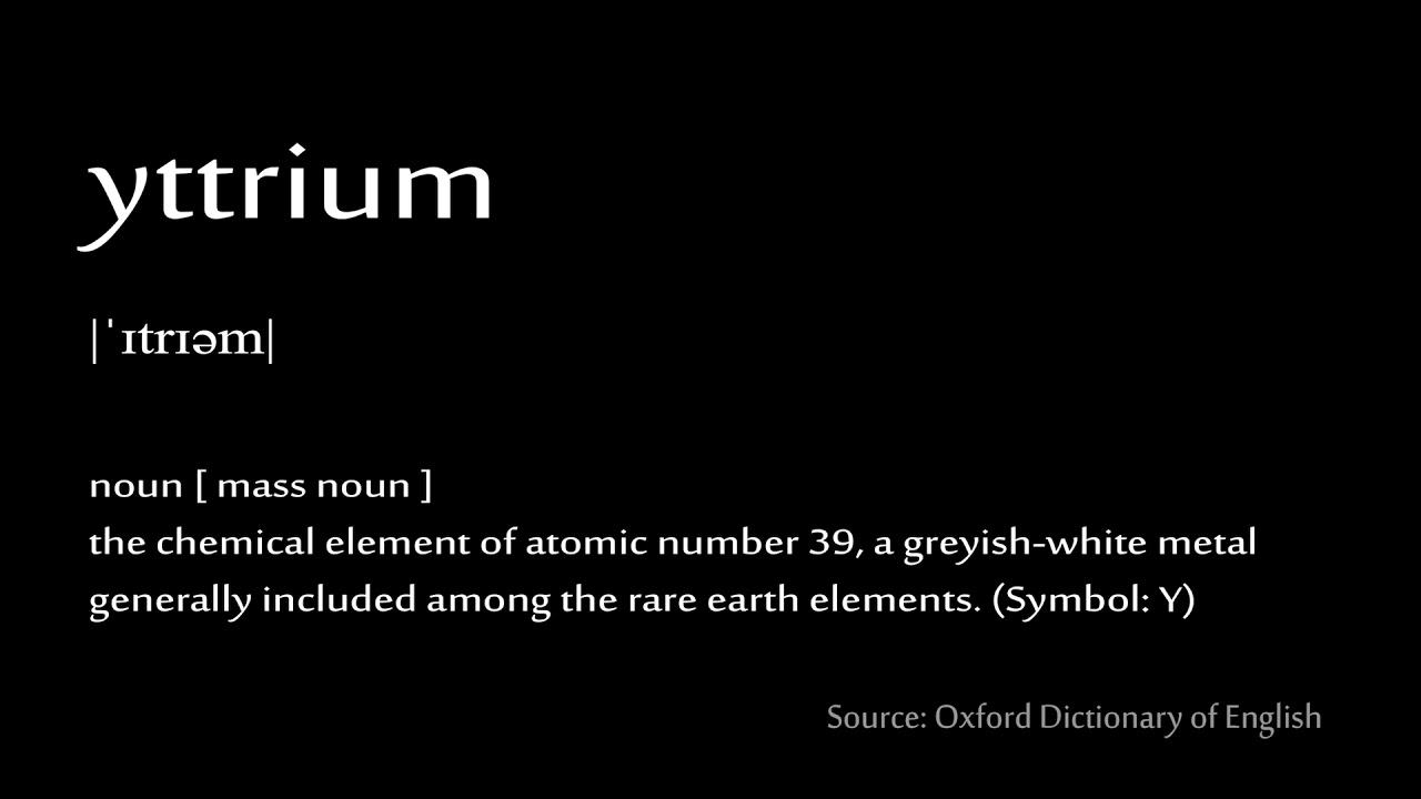 39 yttrium how to pronounce chemical elements periodic table 39 yttrium how to pronounce chemical elements periodic table urtaz Images