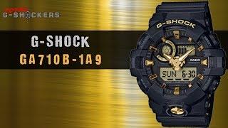 Casio G-SHOCK Black & Gold Analog Digital GA710B-1A9 | Top 10 Things Watch Review