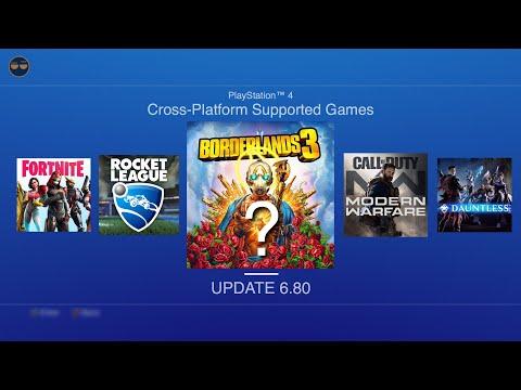 PS4 Xbox One Crossplatform Update ! | PS4 Update 6.80 Releasing Soon (PUBLIC) !?