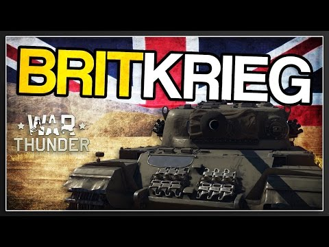 British Blitzkrieg | ◎Centurion Mk 1 Review | War Thunder 1.67