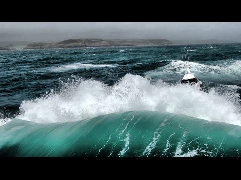 US Barracuda SV125 rough weather sea trials.