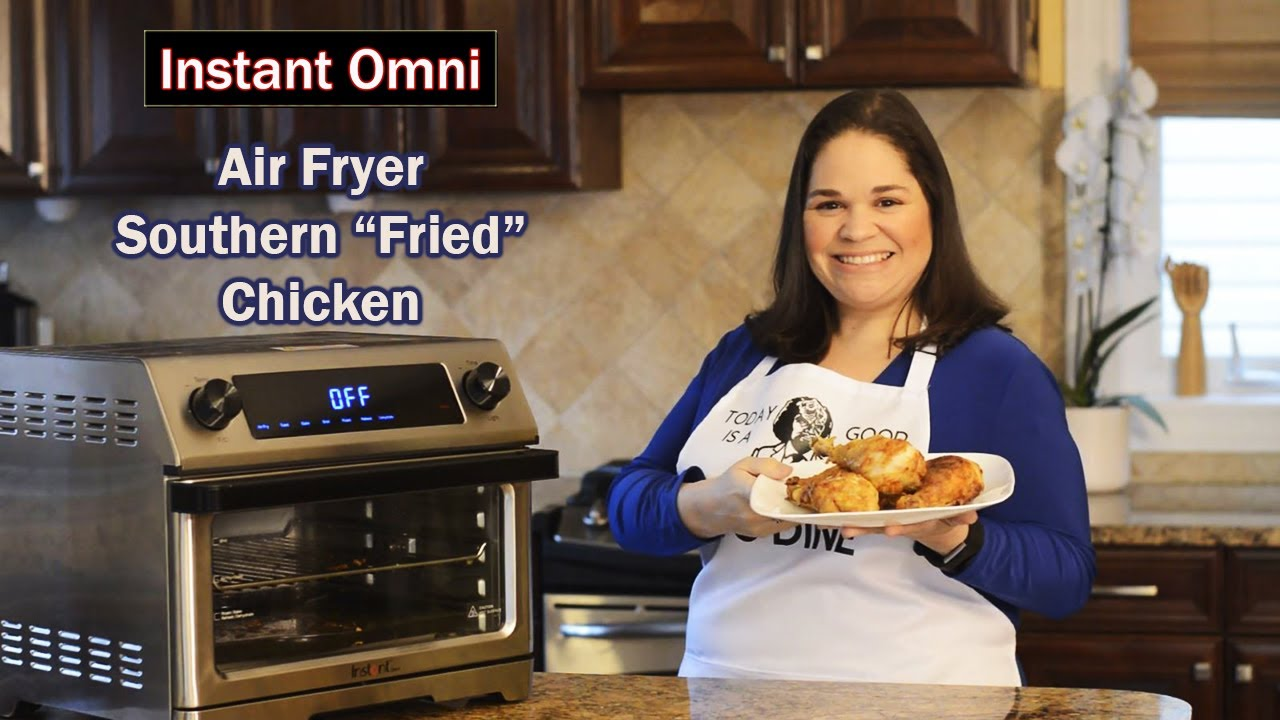 Instant Air Fryer Southern Fried Chicken Youtube