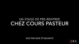Stage pré rentrée Cours Pasteur
