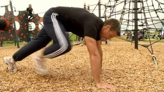 Outdoor Play Equipment | Steve Backley Press Up Challenge | Proludic