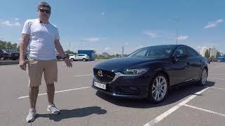 Обзор отзыв владельца Mazda 6 2.5 Style+ 2018  Автомобиль через пол года эксплуатации