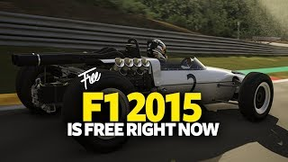 Get Free PC Game F1 2015 (Formula 1 2015) - Free Steam PC Game (For LifeTime)