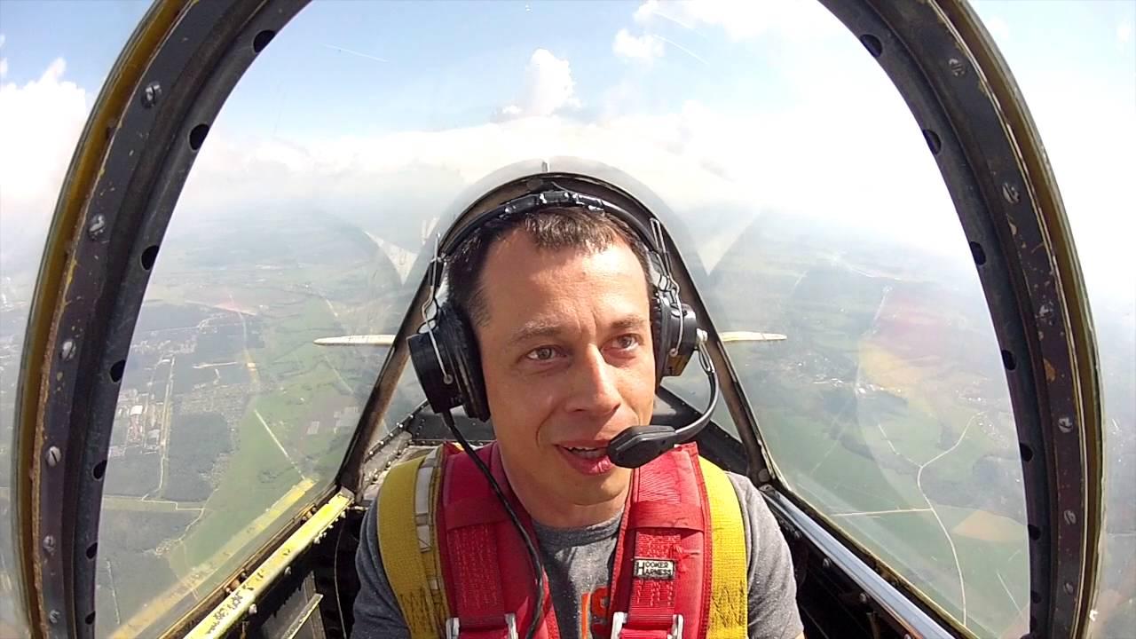 Полет на Як-52 и управление самолетом. Полная версия.