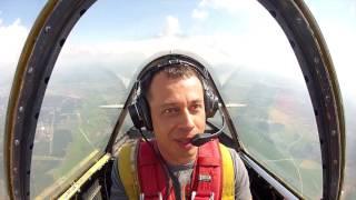 видео управление самолетом