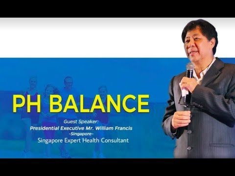 PH BALANCE - Presidential Executive Mr WILLIAM FRANCIS