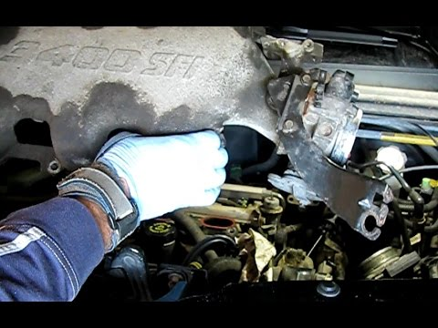 3 4l Gm Lower Manifold Gasket Replacement Part 2 Removing