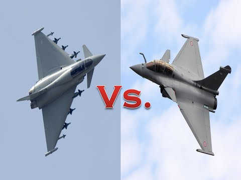 Eurofighter Typhoon Vs. Dassault Rafale..!!