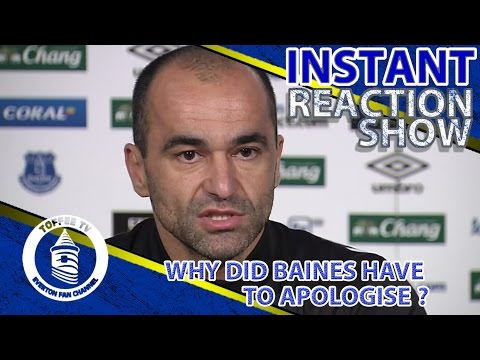 Why Did Baines Have To Apologise? | Press Conference Reaction