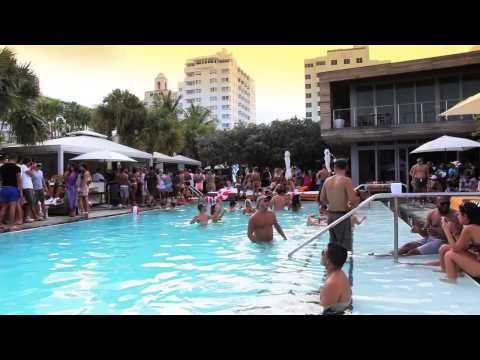Miami Model Citizens Charity Pool Party at Hyde Beach, Hosted By Lisa Morales & Vanessa Ferbeyre