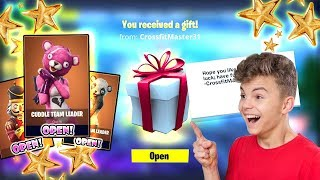 GIFTING MY SUBSCRIBER A LEGENDARY SKIN!! This Was His Reaction (Fortnite Battle Royale)