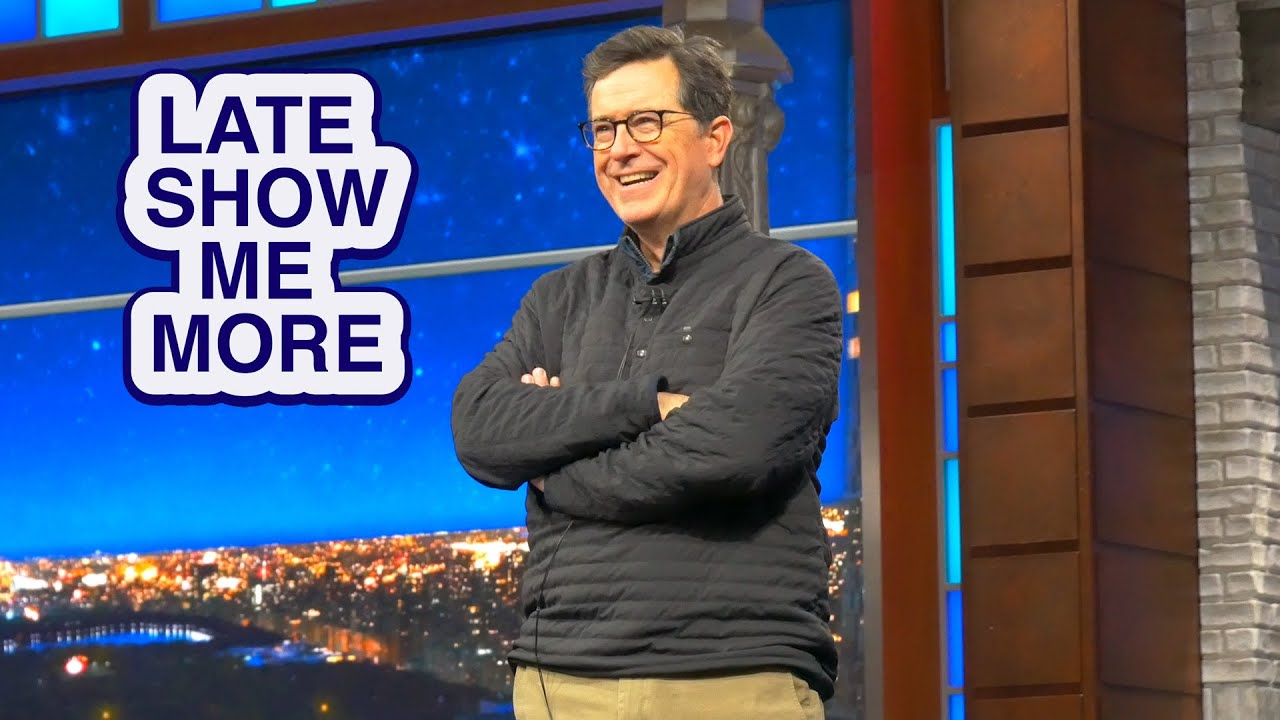 LATE SHOW ME MORE: Let's Do It Live, Baby!