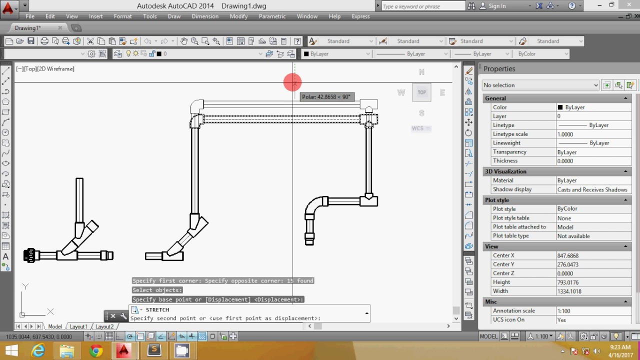 Autocad Plumbing Drawing By Dok Aga Youtube Piping Layout