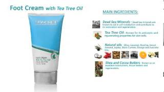 Seacret Foot Cream with Tea Tree Oil Thumbnail