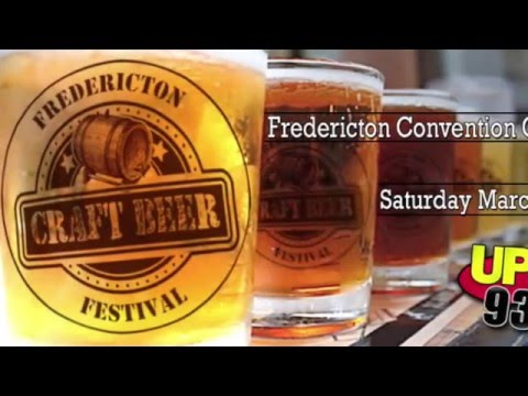 UP! 93.1 at the Fredericton Craft Beer Festival - Teaser