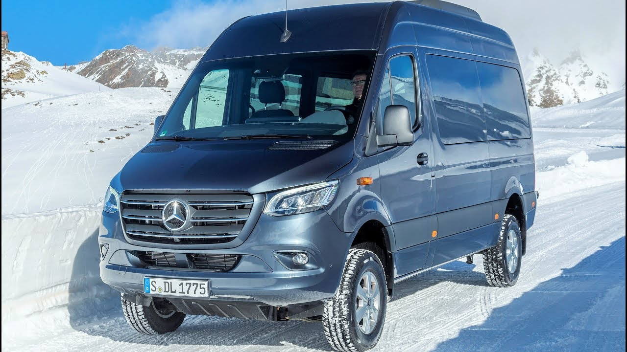 2019 mercedes sprinter 319 cdi 4x4 tourer van which defies even the most adverse conditions. Black Bedroom Furniture Sets. Home Design Ideas