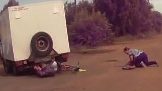 Жесткие аварии и ДТП 2017 №29