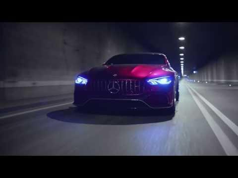 Самый красивый седан в мире выйдет в 2018. Это Mercedes AMG GT.