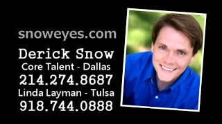 Derick Snow TV / Film Demo Reel 2015