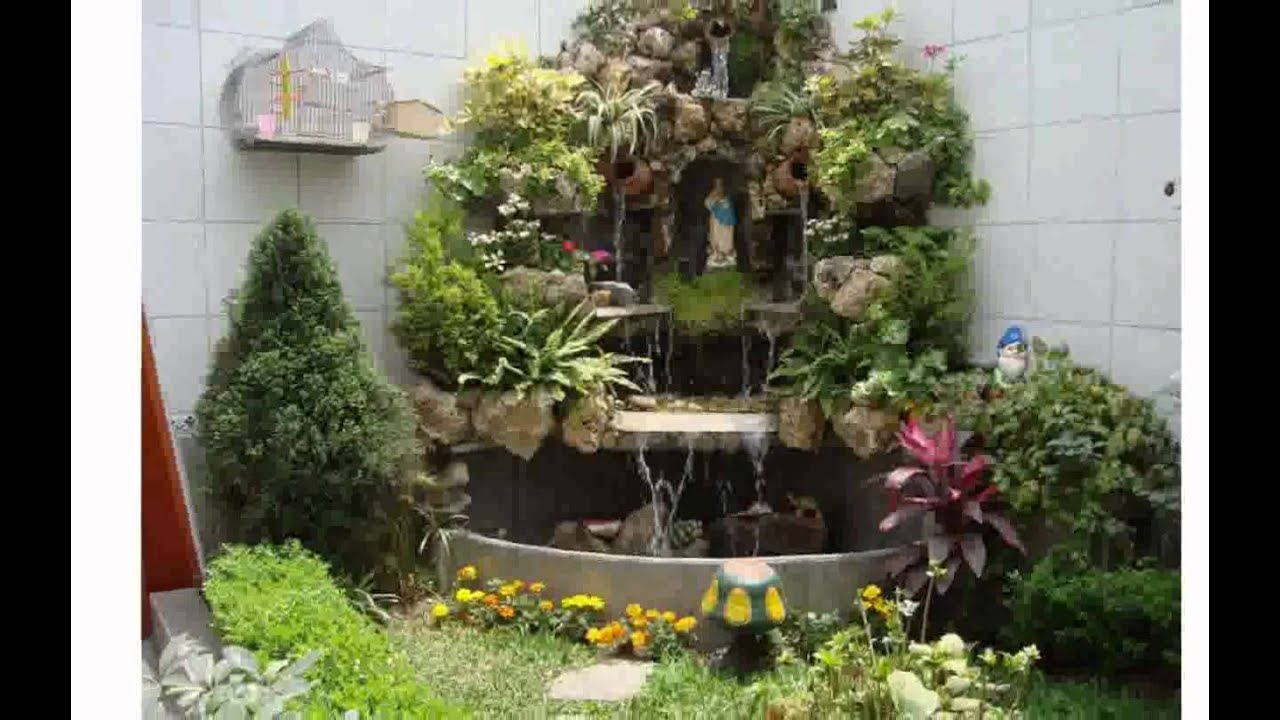 Como decorar el jardin de mi casa youtube for Como decorar mi jardin con piedras y plantas