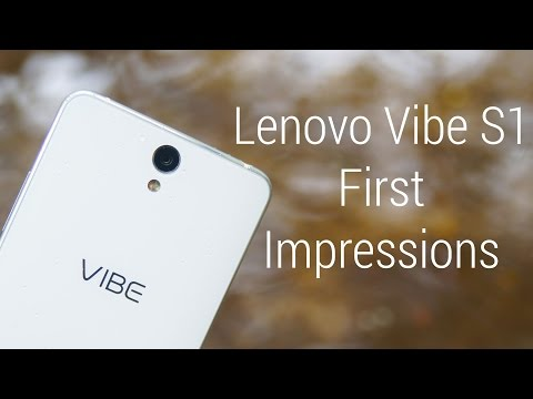 Lenovo Vibe S1 - Hands On Impressions!