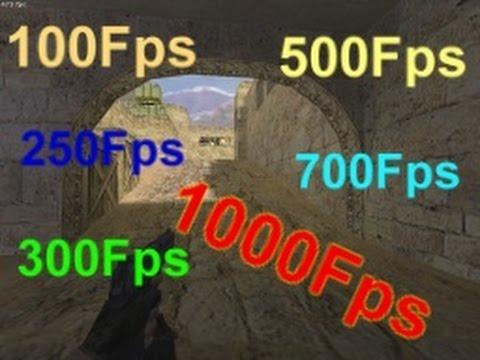 CS 1.6 Fps'i 60 Dan Yukarı Yapmak