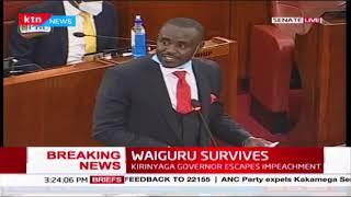 Senate committee clears Kirinyaga Governor Anne Waiguru of all allegations | Full Senate Proceedings