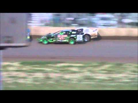 Junction Motor Speedway Tony Rost NASCAR Sport Mod A Feature 6/4/11