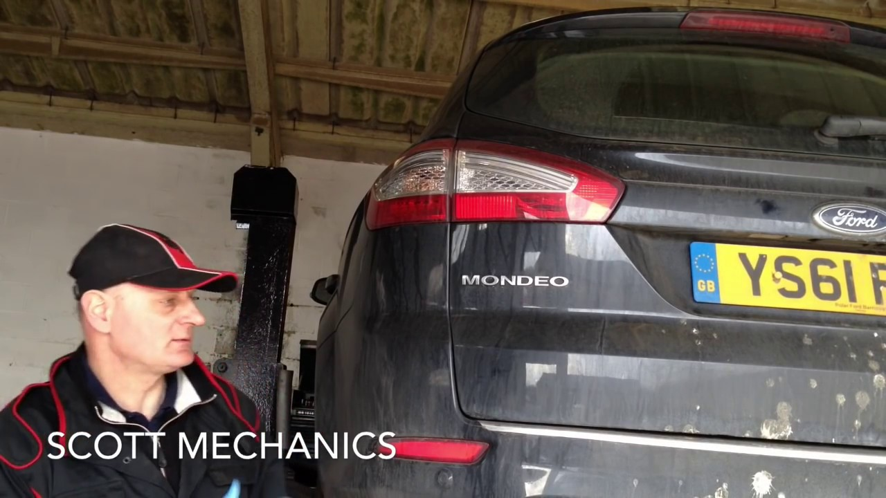 How To Change A Diesel Filter Mondeo 20 Tdi By Scott Mechanics Ford Fuel Location