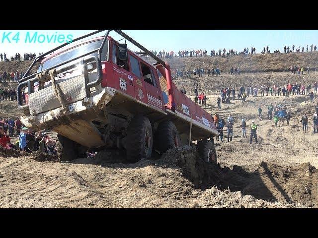 6x6 Truck Trial   Milovice 2018   participant no. 488