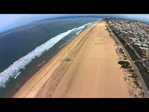Manhattan Beach, California - Drone Flight